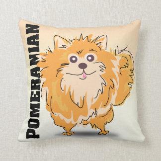 La almohada de Pomeranian
