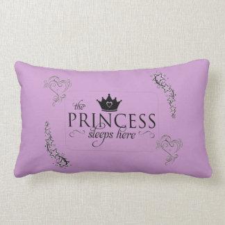 La almohada de princesa Sleeps Here