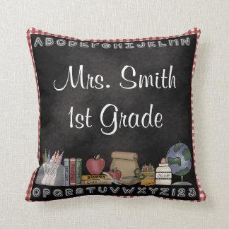 La almohada decorativa del profesor