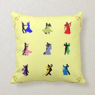 La almohada del baile de salón de baile