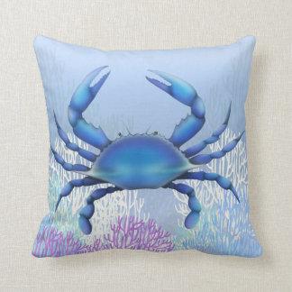La almohada del cangrejo azul