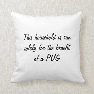 La almohada del perro del barro amasado, amortigua