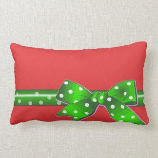 La almohada perfecta del Lumbar del navidad
