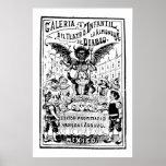 La Almoned del Diablo de José Guadalupe Posada Póster