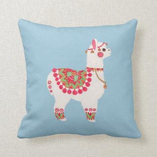 La alpaca cojín decorativo