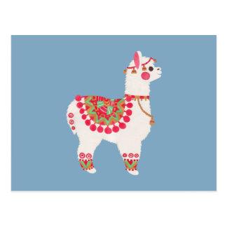 La alpaca postales