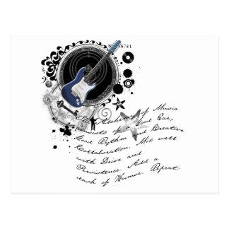 La alquimia de la música postales