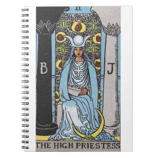 La alta sacerdotisa cuadernos