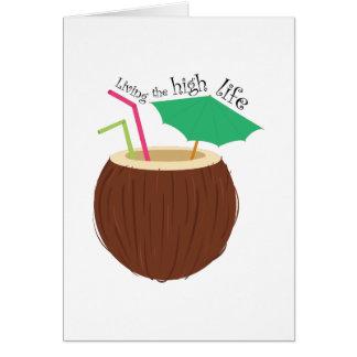 La alta vida tarjeta