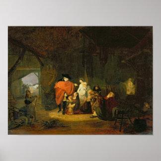 La amabilidad de Louis XVI Posters