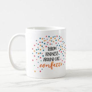 La amabilidad del tiro tiene gusto de la taza