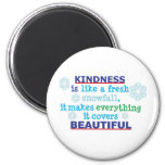 la amabilidad es iman de nevera