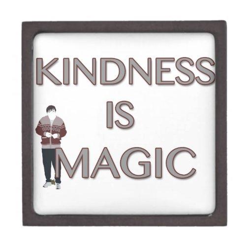 La amabilidad es mágica cajas de joyas de calidad