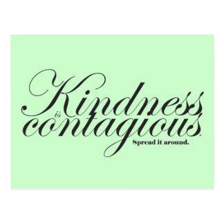 La amabilidad es postal contagiosa
