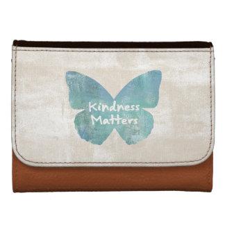 La amabilidad importa mariposa