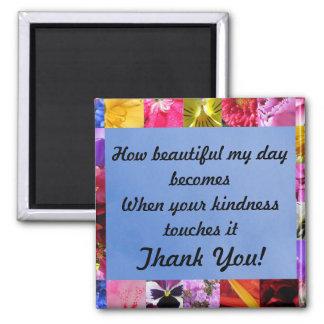 La amabilidad le agradece imán imanes