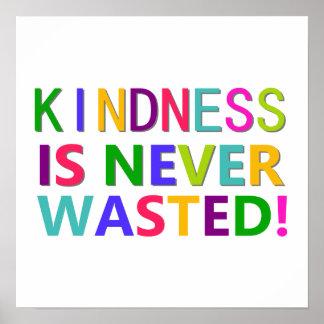 La amabilidad nunca se pierde póster