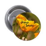 La amapola Jesús ahorra el botón Pin