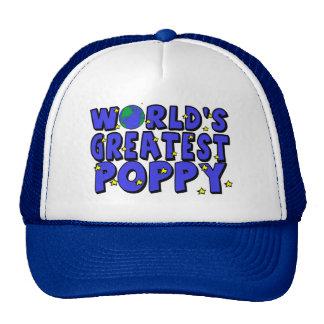 La amapola más grande del mundo gorra