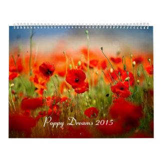 La amapola soña 2015 calendario