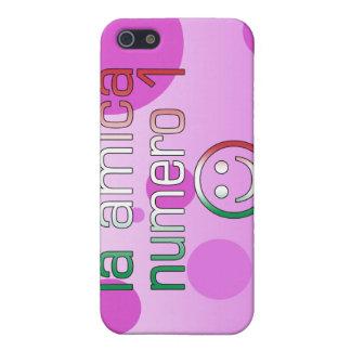 La Amica Numero 1 in Italian Flag Colors for Girls Case For iPhone SE/5/5s