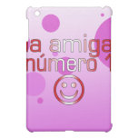 La Amiga Número 1 in Peruvian Flag Colors 4 Girls iPad Mini Cover
