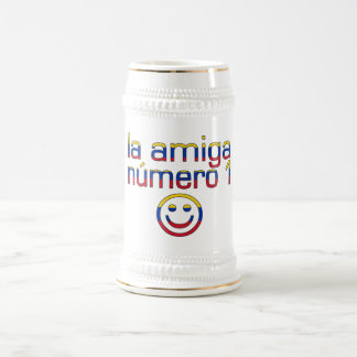 La Amiga Número 1 Venezuelan Flag Colors 4 Girls Coffee Mug