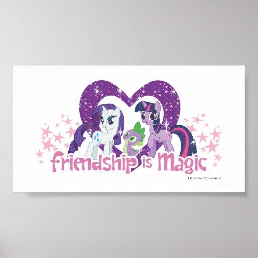La amistad es mágica posters