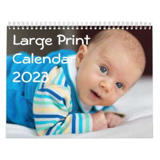 La ampliación de foto personalizada hace calendarios