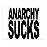 La anarquía chupa postal