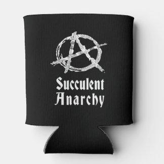 La anarquía suculenta puede enfriador de latas