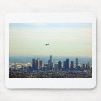 LA and helo Mouse Pad