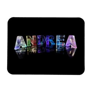 La Andrea conocida en luces Imanes