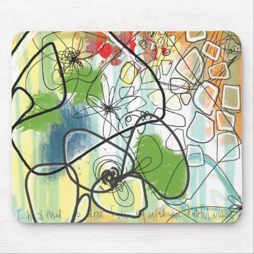 La angustia 1-Mousepad de Bronte Tapetes De Ratón