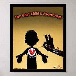 La angustia del niño sordo impresiones