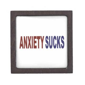 La ansiedad chupa cajas de regalo de calidad