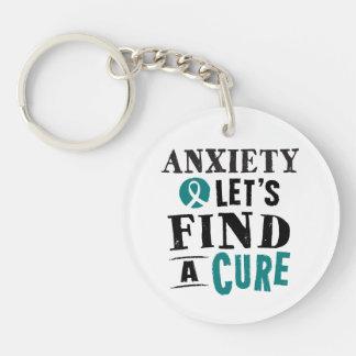 La ansiedad deja para encontrar un llavero de la