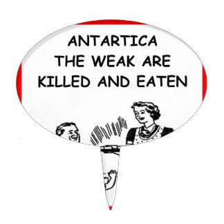 la Antártida Palillos De Tarta
