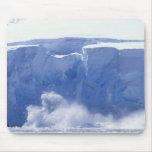 La Antártida, bahía del paraíso, formas de onda ma Tapetes De Ratón