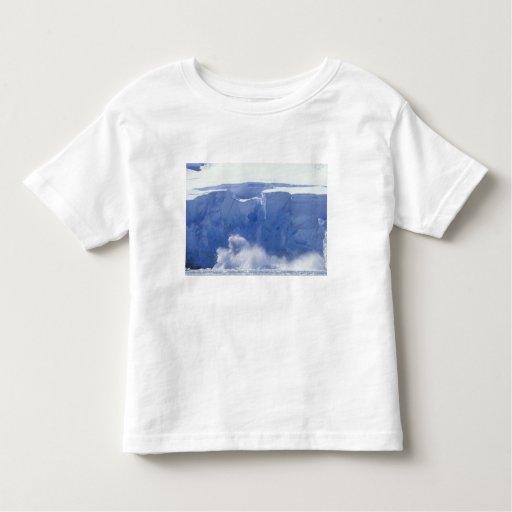 La Antártida, bahía del paraíso, formas de onda Tshirts