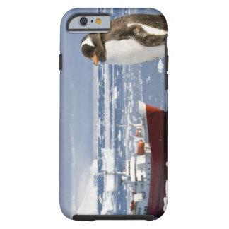 La Antártida, ensenada de Neko (puerto). Pingüino Funda Para iPhone 6 Tough