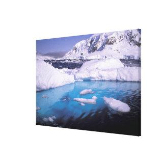 La Antártida Expedición a través de los icescapes Lienzo Envuelto Para Galerias