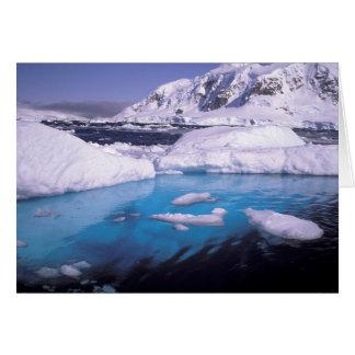 La Antártida. Expedición a través de los icescapes Tarjeta De Felicitación