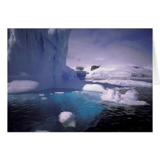 La Antártida. Icescapes antárticos 2 Tarjeta De Felicitación