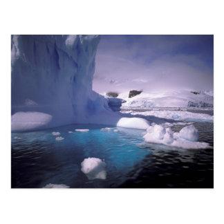 La Antártida. Icescapes antárticos 2 Tarjetas Postales