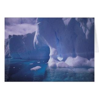 La Antártida. Icescapes antárticos 3 Tarjeta De Felicitación