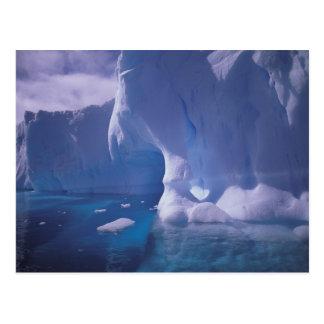 La Antártida. Icescapes antárticos 3 Tarjetas Postales