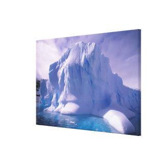 La Antártida Icescapes antárticos Impresión En Lona Estirada