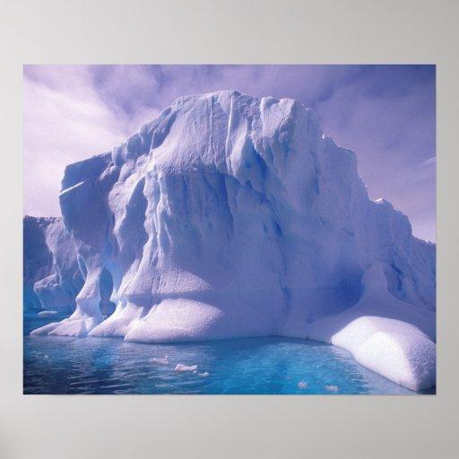 La Antártida. Icescapes antárticos Posters