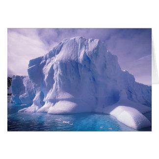 La Antártida. Icescapes antárticos Tarjeta De Felicitación
